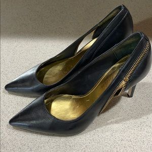 "Marc Fisher pointed 3 1/2"" heels-previously owned"